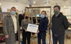 La recyclerie créative Dinò récompensée pour ses actions