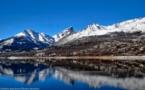 Le lac Calacuccia comme un miroir