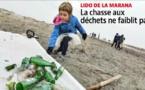 LIDO DE LA MARANA  La chasse aux déchets ne faiblit pas