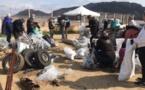 Porto-Vecchio : 3 camions-bennes de déchets recueillis à l'embouchure du Stabiacciu avec Global Earth Keeper