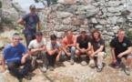 ARGHJUSTA È MURICCIU  Des apprentis découvrent la pierre sèche en montagne