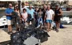 """Succès pour l'opération """"galets noirs"""" sur les plages de Centuri"""