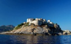La Citadelle de Calvi vue de la mer