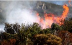Ochjatana : un hectare de végétation part en fumée