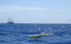 Les eaux de notre Aire Marine Protégée inspectées par un drone sous-marin