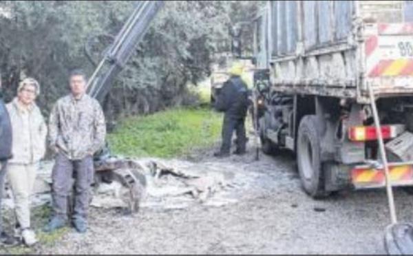 L'interco combat les dépôts sauvages sur la D302
