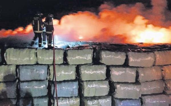 Aiacciu : 40 tonnes de déchets brûlées, une enquête ouverte