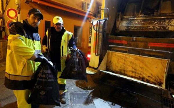 Confinement, le ramassage des déchets continue