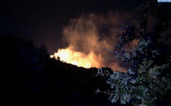 Felicetu : incendie maîtrisé, un forestier-sapeur blessé