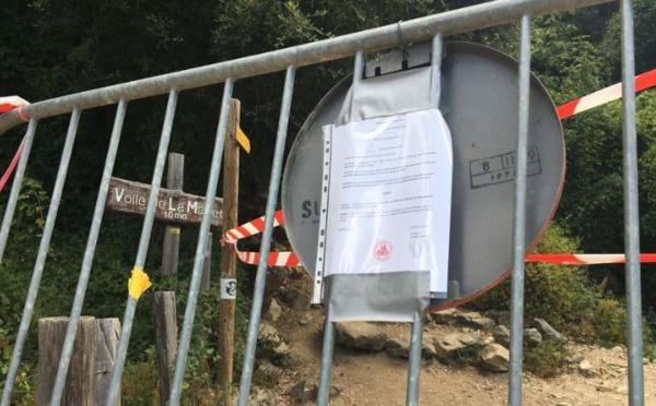 Éboulement à la cascade du voile de la mariée : les touristes bravent l'interdiction d'accès au site