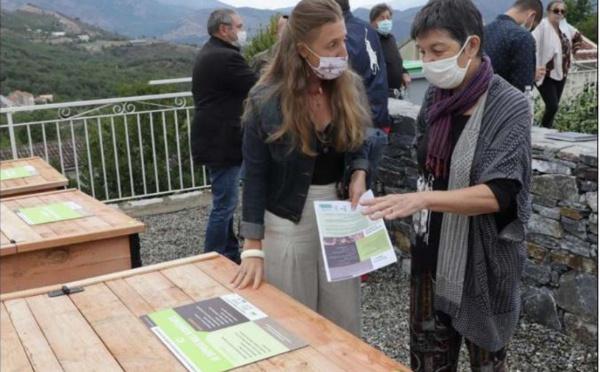 RIVENTOSA  Le premier composteur partagé du Centre Corse voit le jour