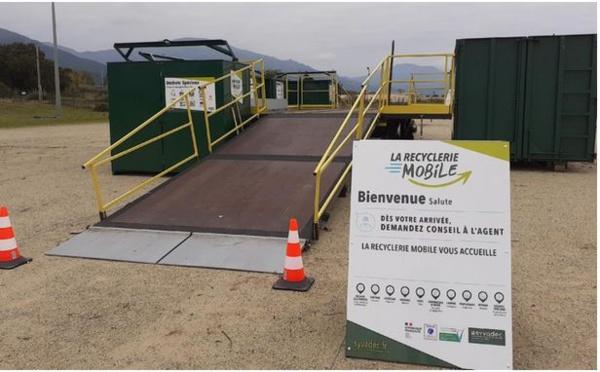 La recyclerie mobile : un nouvel outil au service du tri pour Bastia et sa région