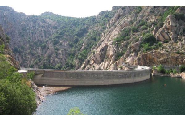 Le barrage de Tolla est passé en état de crue : il est recommandé de ne pas se promener aux abords du Prunelli