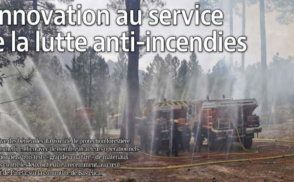 L'innovation au service de la lutte anti-incendies