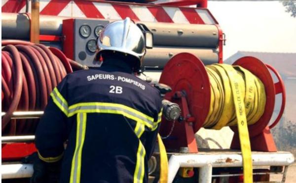 2,5 hectares d'une châtaigneraie partent en fumée à Santa-Reparata-Di-Moriani