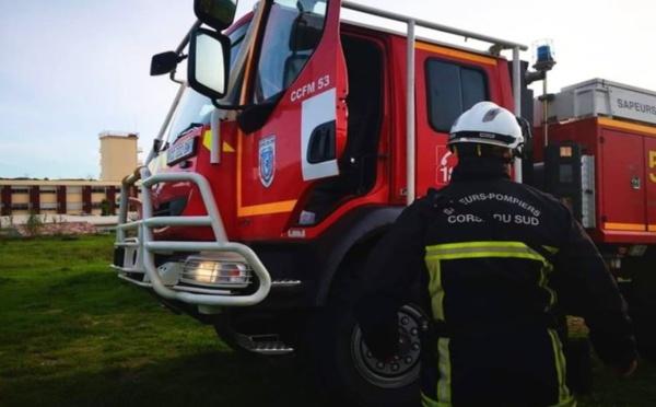 Importants départs de feu à Alata (golfe de Lava)
